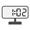 Digital Clock 01:02