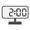 Digital Clock 02:00