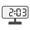 Digital Clock 02:03
