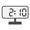 Digital Clock 02:10