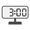 Digital Clock 03:00
