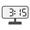 Digital Clock 03:15