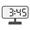 Digital Clock 03:45