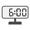 Digital Clock 06:00