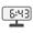 Digital Clock 06:43
