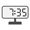 Digital Clock 07:35