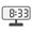 Digital Clock 08:33
