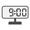 Digital Clock 09:00