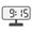 Digital Clock 09:15