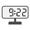 Digital Clock 09:22