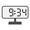 Digital Clock 09:34
