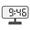 Digital Clock 09:46