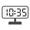 Digital Clock 10:35