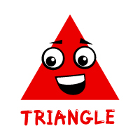 Basic Shapes - Triangle - With Label