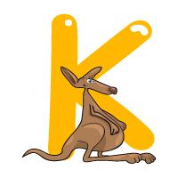 Letter K - Color