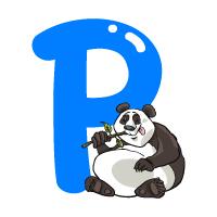 Letter P - Color