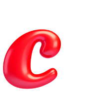 Letter C - Color - Lowercase