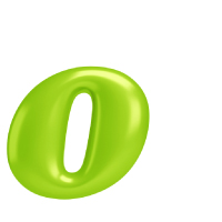 Letter O - Color - Lowercase