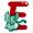 Letter E - Color