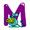 Letter M - Color