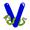 Letter V - Color