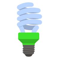 Earth Day - Light Bulb