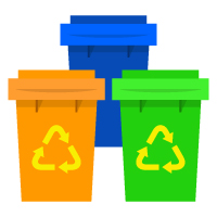Earth Day - Recycling Bins