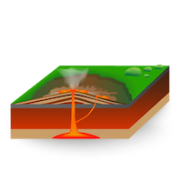 Volcano - Shield Volcano - Small