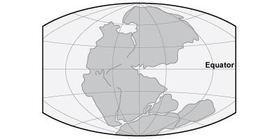 Map - Pangaea