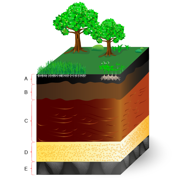 Soil Layers Without Text Labels