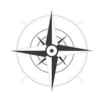 Compass Rose - No Labels