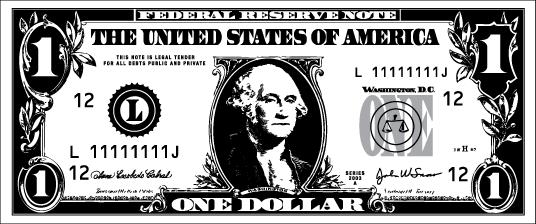 Dollar Bill - front