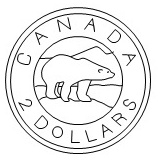 Canadian 2 Dollars