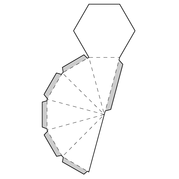 Hexagonal Pyramid Net