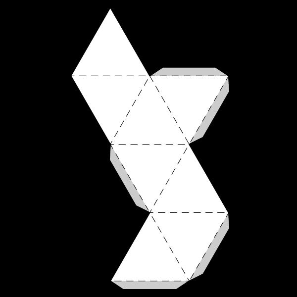 Octahedron Net