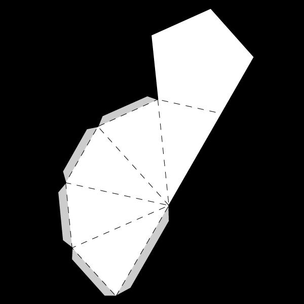 Pentagonal Pyramid Net
