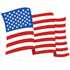 American - Flag - Small