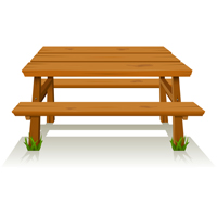 Summer - Picnic Table