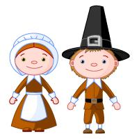 Thanksgiving - Pilgrim - Couple