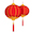 Chinese New Year - Red Lantern - Small