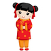 Chinese New Year - Girl - Small