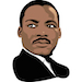American - Martin Luther King Jr - Small