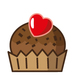 Valentine's Day - Cup Cake - Small