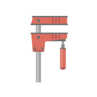 Carpentry Tools - Bar Clamp