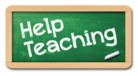 Help Teaching Logo