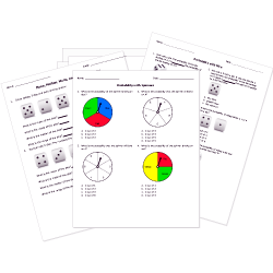 Printable Statistics and Probability Worksheets